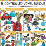 R Controlled Vowel Clip Art Bundle