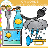 R Controlled Vowel Clip Art: OR Words