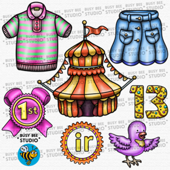 R Controlled Vowel Clipart IR