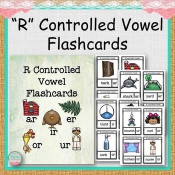 R Controlled Vowel Flashcards