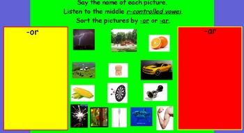 Promethean Board Lesson-R Controlled Vowel Flipchart: Kids Inventions
