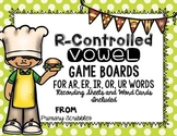 R Controlled Vowel Game Board Pack