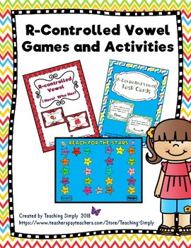 R-Controlled Vowel Games and Activities