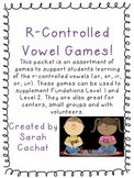 R-Controlled Vowel Games (ar, ir, er, or, ur)