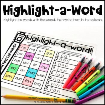 R-Controlled Vowel IR Word Work for Literacy Centers