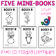 Mini-Books   Bossy R Words