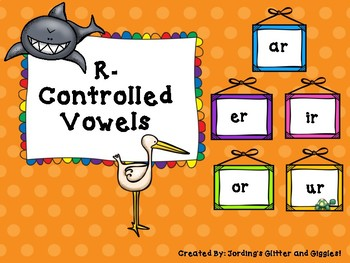 R-Controlled Vowels- NO PREP!!!!!