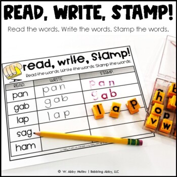 R-Controlled Vowel OR Word Work for Literacy Centers