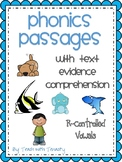 R-Controlled Vowel Passages With Text Evidence Comprehension