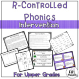R-Controlled Vowel Phonics Intervention for Upper Grades