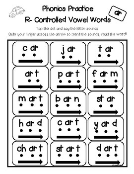 R Controlled Vowels - Phonics Practice