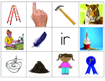 R-Controlled Vowel Picture Sort