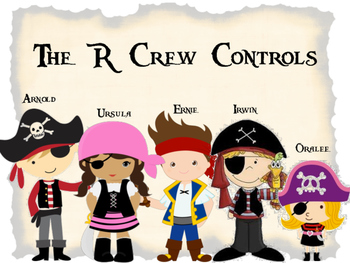 R-Controlled Vowel Pirate Crew Anchor Charts