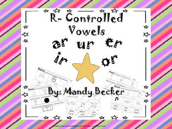 R Controlled Vowel Printables