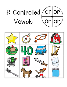 R Controlled Vowel Review