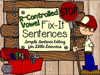 R-Controlled Vowels (Sentence Editing)