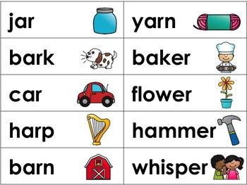 R-Controlled Vowel Set