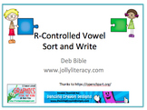 R-Controlled Vowel Sort (Supplements Jolly Phonics)