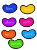 Easter Jelly Bean R Controlled Vowel Sort