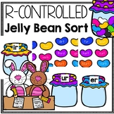 Easter Jelly Bean R Controlled Vowel Sort for er, ur, and ir