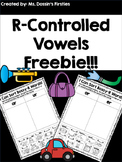 R-Controlled Vowel Sort FREEBIE
