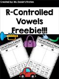 R-Controlled Vowel Sort FREEBIE
