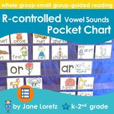 R-Controlled Vowel Sounds Pocket Chart