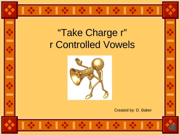 R - Controlled Vowel Sounds Power Point Presentation