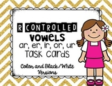R Controlled Vowel Task Cards