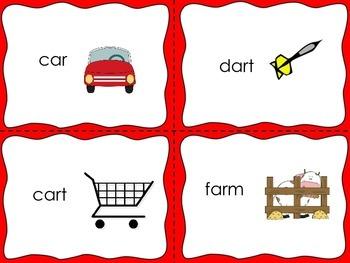 R Controlled Vowel Task Cards Set 1