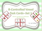 R Controlled Vowel Task Cards Set 1