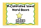 R-Controlled Vowel Word Boxes