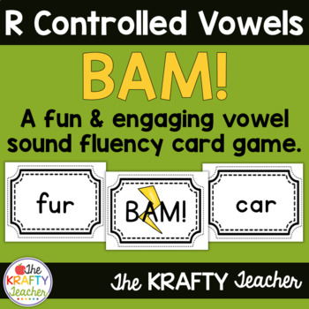 R Controlled Vowel Word Game BAM