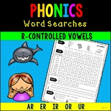 R-Controlled Vowel Word Searches