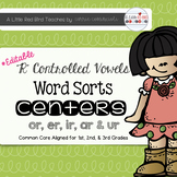 R-Controlled Vowel Word Sorts {Common Core Aligned}
