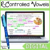 R Controlled Vowel Word Work for Google Slides™