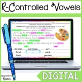 Distance Learning R Controlled Vowel Word Work for Google Slides™