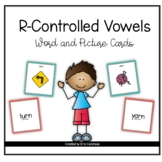 R-Controlled Vowel Word and Picture Cards