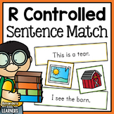 R Controlled Vowel Words Sentence Matching