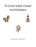 R-Controlled Vowel Worksheets (Er, Ar, Or, Ir, Ur)