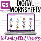 R Controlled Vowel Worksheets NO PREP DIGITAL Bossy R Acti