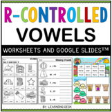 Bossy R-Controlled Vowel Worksheets er ar or ir ur Second Third Grade Phonics