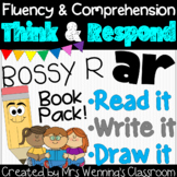 R-Controlled Vowel ar (Bossy R) Book: Think and Respond! 2 versions included!