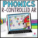 Digital Phonics Activities R-Controlled Vowel Word Work AR Google Classroom