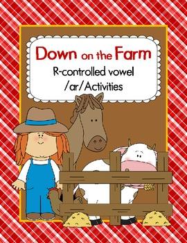 R-Controlled Vowel /ar/ Farm Activities