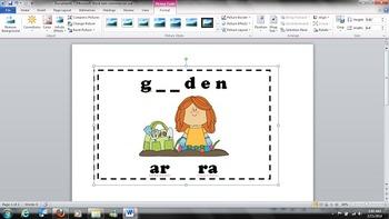R-Controlled Vowel - /ar/ - Task Cards