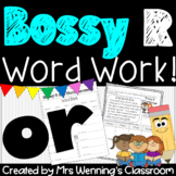R-Controlled Vowel or (Bossy R) Pack!
