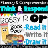 R-Controlled Vowel or (Bossy R) Book: Think and Respond! 2 versions included!