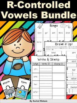R-Controlled Vowels Word Work BUNDLE