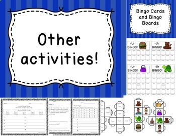 R Controlled Vowel -ur Activities Differentiated